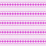 De roze en Witte Polka Dot Abstract Design Tile Pattern herhaalt Bedelaars Stock Afbeeldingen