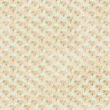 De roze groene en blauwe antieke rozen bloemen herhalen achtergrond Royalty-vrije Stock Afbeelding