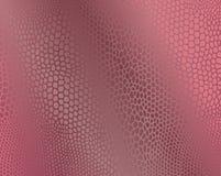 De roze imitatieachtergrond van de slanghuid Royalty-vrije Stock Foto