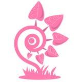 De roze installatie van de fantasie Royalty-vrije Stock Afbeeldingen