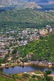 De Roze Stad van Jaipur Royalty-vrije Stock Afbeelding
