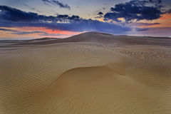 De Roze Stijging van het zandduin Stock Foto's