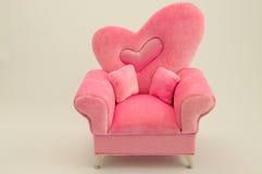 De roze Stoel van het Wapen Royalty-vrije Stock Foto's