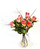 De rozen van de stof Stock Afbeeldingen