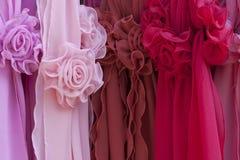 De rozen van de zijde Stock Foto