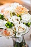 De Rozen van het huwelijk Stock Foto's