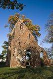 De ruïne Eldena van het klooster stock foto
