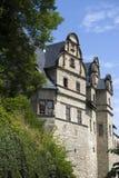 De Ruïne Schloss Kranichfeld van het kasteel Royalty-vrije Stock Afbeelding