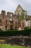 De ruïne van de Abdij van Aulne - België Royalty-vrije Stock Foto's