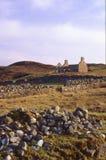 De ruïne van de Sandwoodbaai, Sutherland, Schotland Royalty-vrije Stock Fotografie