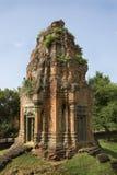 De Ruïne van de tempel Stock Afbeelding