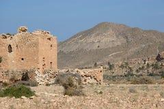 De ruïne van de woestijn Stock Foto