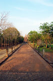 De Ruïne van het de Steenkasteel van de Phanomsport van Buriram Thailand Stock Afbeelding