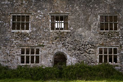 De ruïne van het kasteel Royalty-vrije Stock Foto