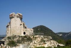 De ruïne van het kasteel Royalty-vrije Stock Fotografie