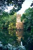 De ruïne van het waterkasteel Royalty-vrije Stock Afbeeldingen