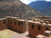 De Ruïne van Inca stock afbeeldingen