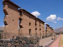 De ruïne van Inca in Peru Royalty-vrije Stock Foto's