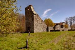 De ruïne van de Vasterstadkerk Stock Fotografie