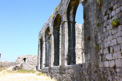 De ruïnes Royalty-vrije Stock Afbeeldingen