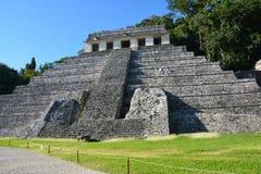 De Ruïnes Chiapas Mexico van Weergevenpalenque royalty-vrije stock foto
