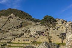 De ruïnes Cuzco Peru van Machupicchu Royalty-vrije Stock Afbeeldingen