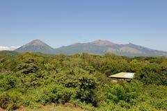 De ruïnes Nicaragua van Viejo van Leon Royalty-vrije Stock Afbeelding