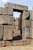 De ruïnes Peru van Incan royalty-vrije stock afbeelding