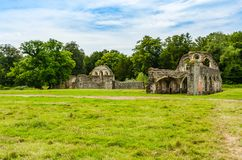 De ruïnes van de Abdij van Waverley stock foto's