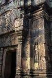 De ruïnes van Angkor Wat van de tempel van Srei van Banteay, Kambodja Stock Foto's