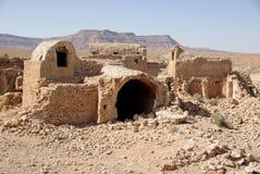 De ruïnes van Berber in Libië Stock Foto