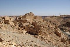 De ruïnes van Berber in Libië Royalty-vrije Stock Fotografie