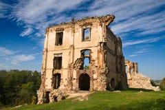 De Ruïnes van Bodzentyn Stock Afbeeldingen