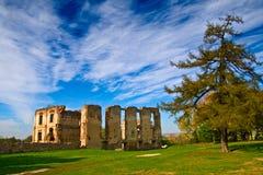 De Ruïnes van Bodzentyn royalty-vrije stock afbeeldingen