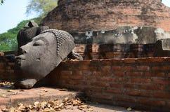 De ruïnes van Boedha Stock Fotografie