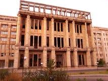De ruïnes van Boekarest Royalty-vrije Stock Afbeeldingen