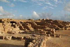 De ruïnes van Caesarea Maritima, Israël Stock Foto's