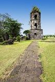 De Ruïnes van Cagsawa Royalty-vrije Stock Fotografie