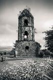 De Ruïnes van Cagsawa Royalty-vrije Stock Afbeelding