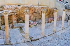 De ruïnes van Cardo stock fotografie