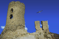 De ruïnes van Chembalo Stock Afbeeldingen