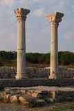 De ruïnes van Chersonesos Royalty-vrije Stock Foto's