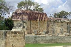 De ruïnes van Chichenitza in Mexico Royalty-vrije Stock Fotografie