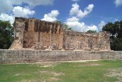 De ruïnes van Chichenitza in Mexico Royalty-vrije Stock Afbeelding