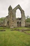 De ruïnes van de Abdij van Haughmond, dichtbij Shrewsbury Stock Foto