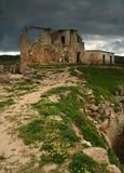 De Ruïnes van de bouw Royalty-vrije Stock Foto's