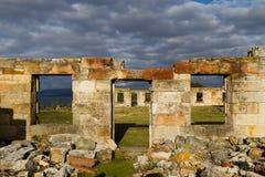 De ruïnes van de gevangenis royalty-vrije stock foto's