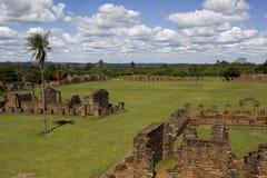 De Ruïnes van de jezuïet in Trinidad Stock Afbeelding