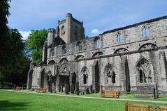 De Ruïnes van de kathedraal royalty-vrije stock afbeelding