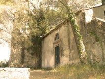 De ruïnes van de kerk Stock Foto